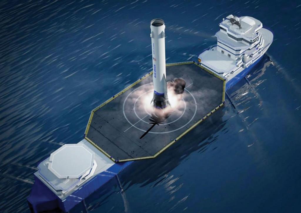 Blue Origin Landing Ship Cc