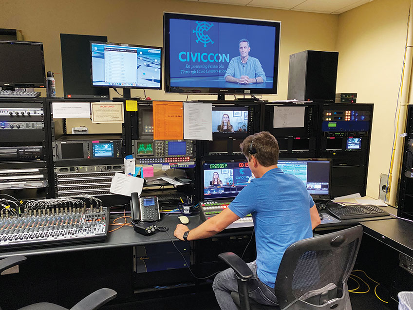 Civiccon Used Local Blabtv To Produce Zoom Meetings Ccsz