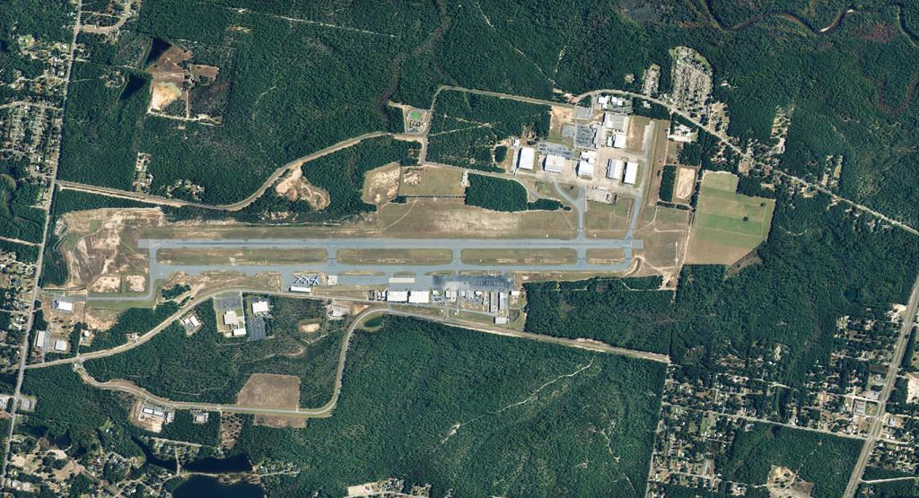Bob Sikes Airport Aerial Ccsz